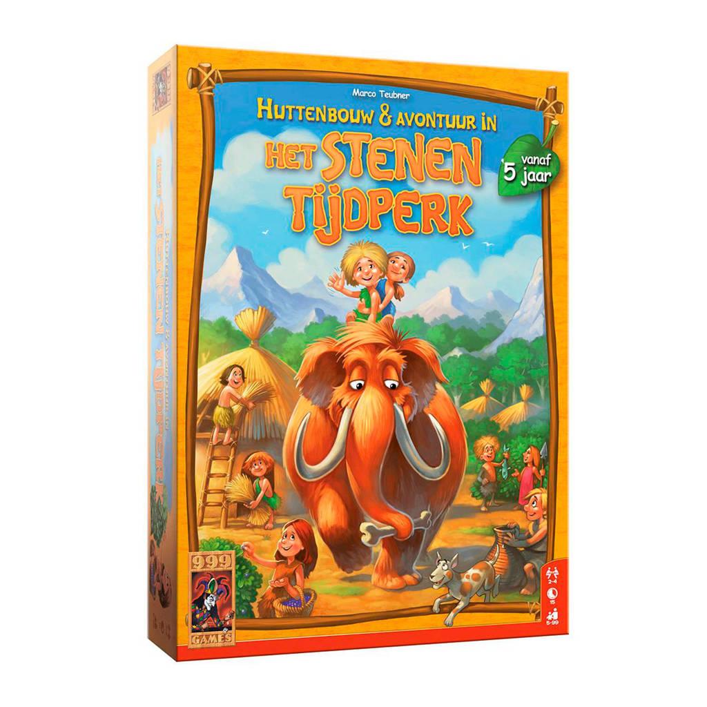 999 Games Stenen Tijdperk huttenbouw & avontuur bordspel