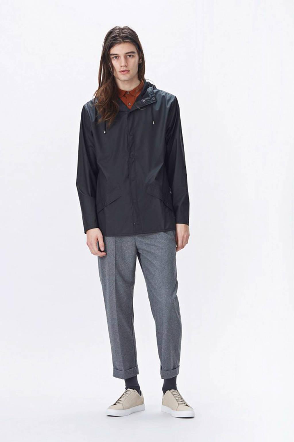 Rains Jacket regenjas, Zwart