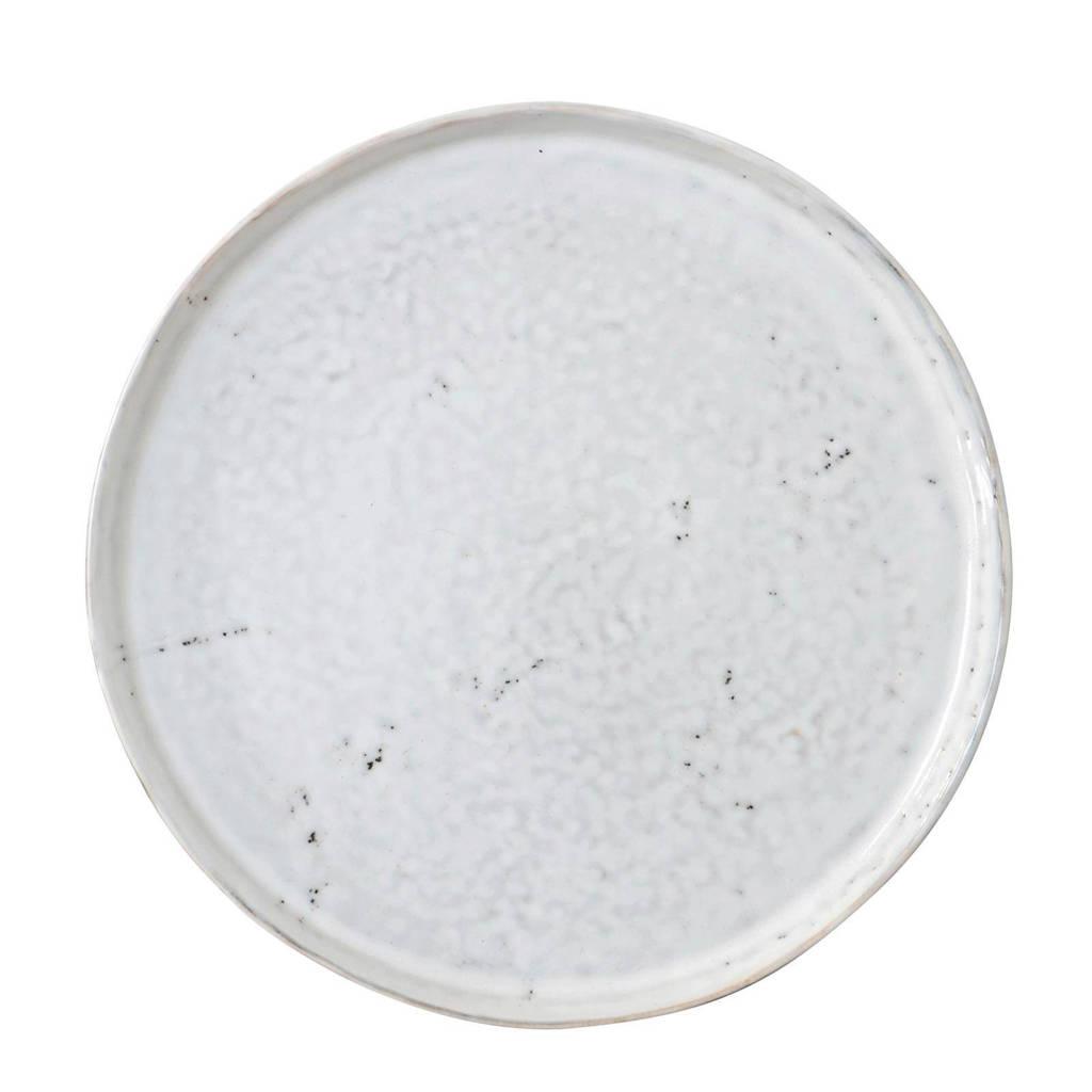 HKliving ontbijtbord (Ø22 cm) (set van 2), Wit