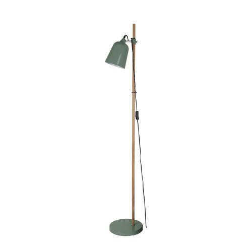 Vloerlamp Wood-like Metaal Jungle Groen Leitmotiv
