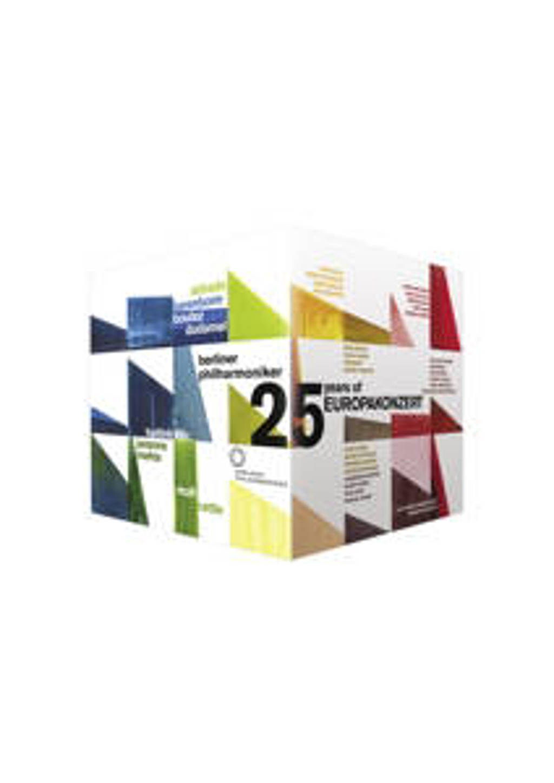 Berliner Philharmoniker - Europakonzert 25 Dvd Anniversa (DVD)
