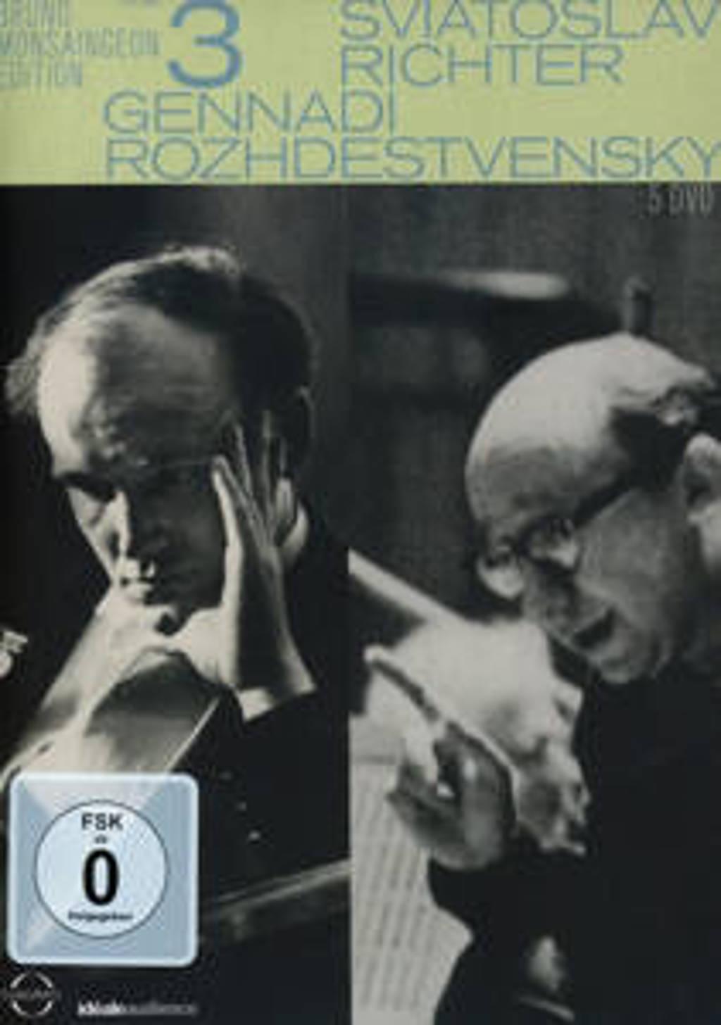 Bruno Monsaingeon - S. Richter - Bruno Monsaingeon Edition Vol (DVD)