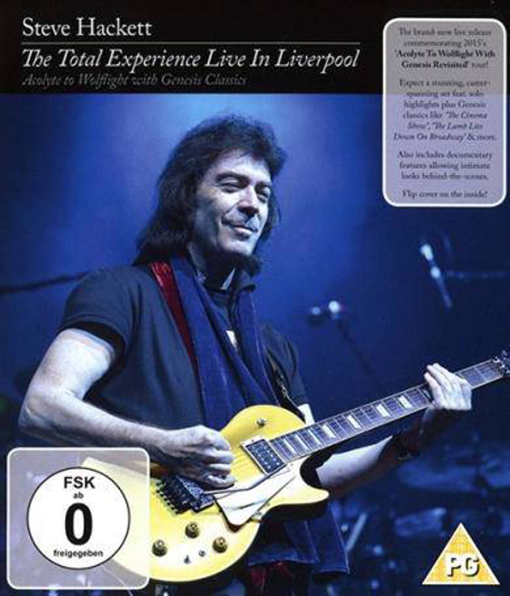 Steve Hackett - The Total Experience Live In L (Blu-ray)