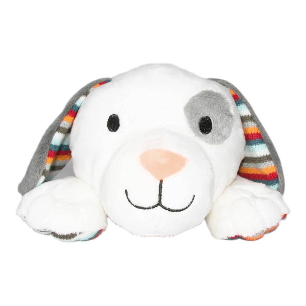Zazu Dex de hondmet hartslag 32 cm interactieve knuffel, Wit