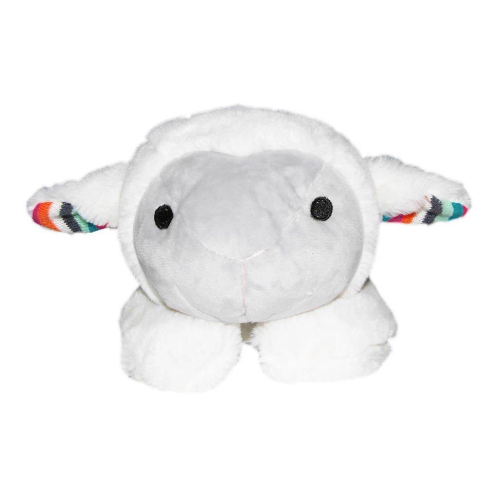 Zazu Heartbeat  - LIZ The Lamb interactieve knuffel, Wit