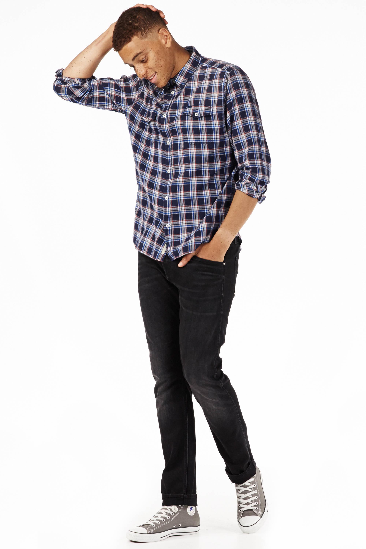 Pepe Jeans slim fit overhemd | wehkamp