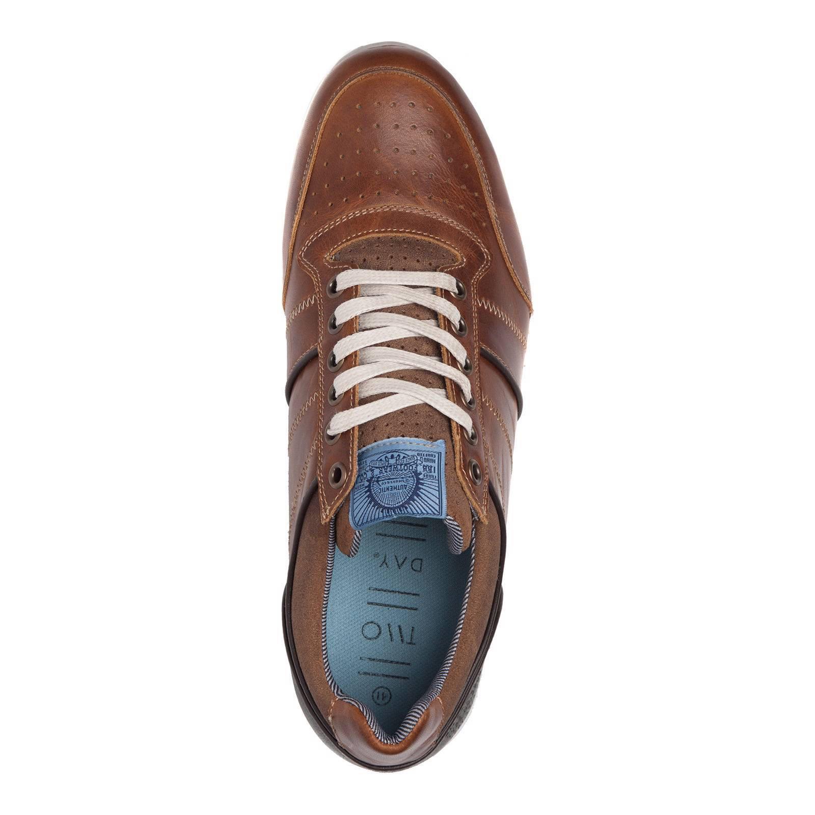 bf39f448ef8 Scapino TwoDay leren sneakers | wehkamp