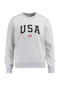 America Today sweater Soel grijs, Grijs