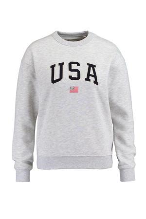 sweater Soel grijs