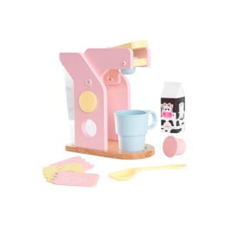 koffieset - roze