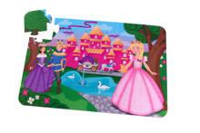 prinsessenkasteel  vloerpuzzel 24 stukjes
