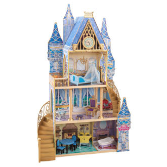 houten Disney Assepoester droompoppenhuis