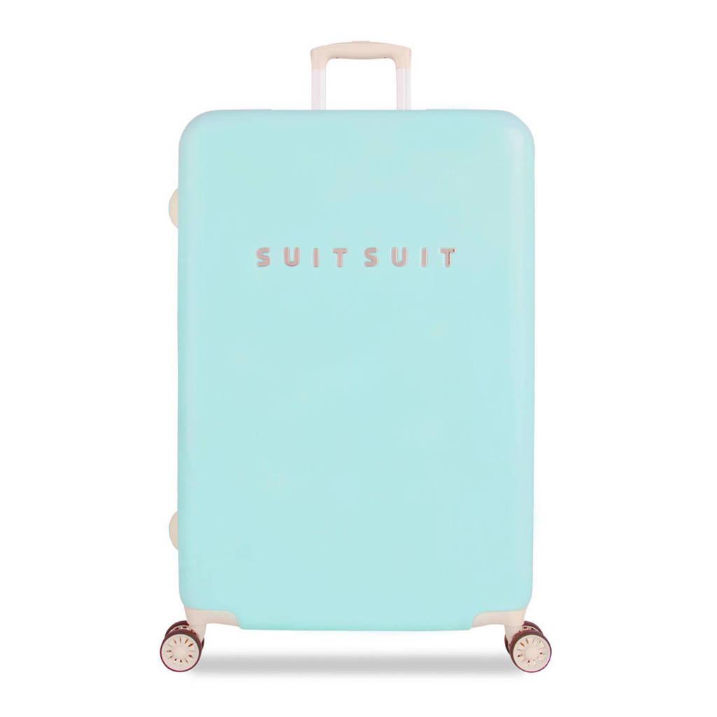 Suitsuit Fabulous Fifties koffer (77 cm), 77x50x30, Luminous Mint