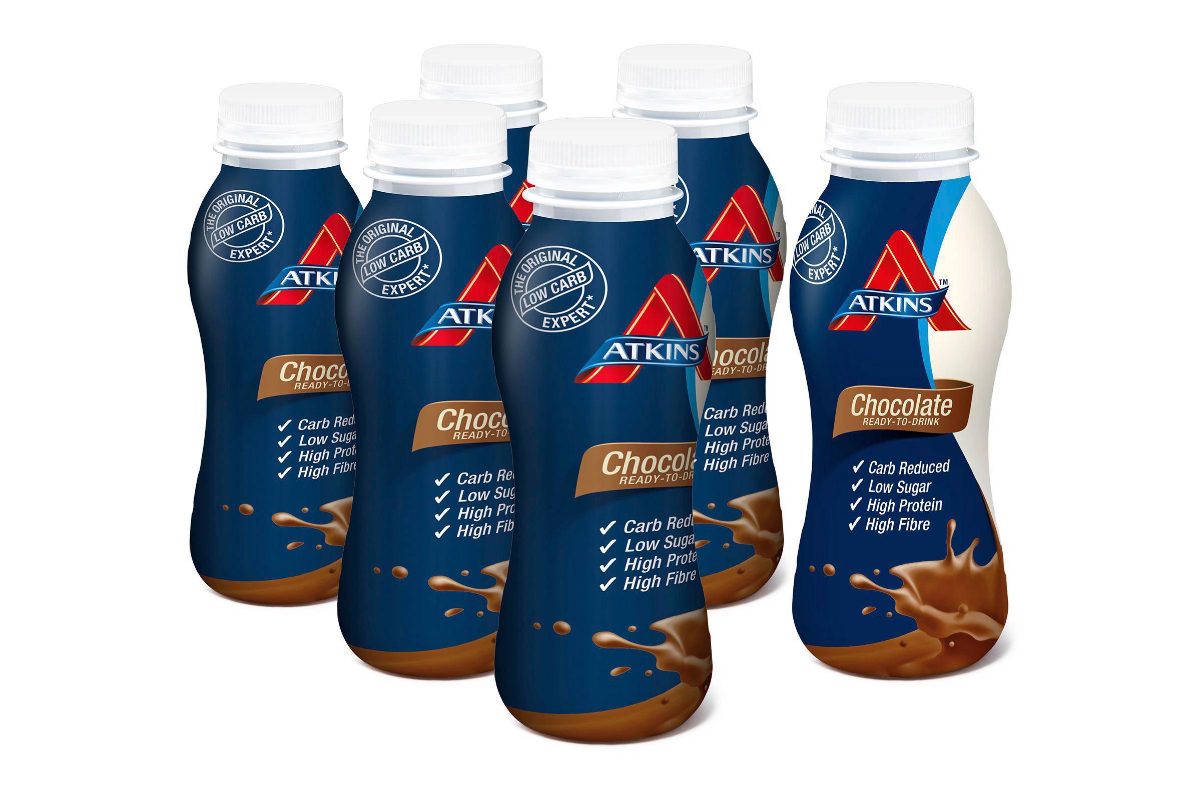 Atkins Chocolate Ready To Drink - 5+1 gratis