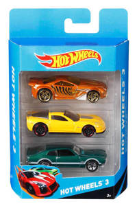 Hot Wheels  3 auto's set