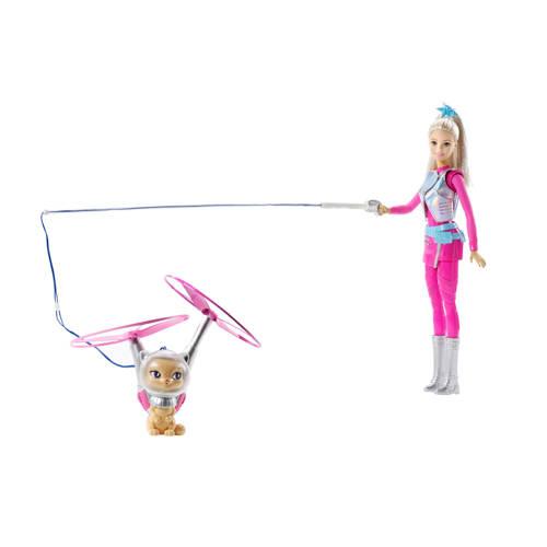 Barbie pop en haar vliegende kat kopen