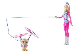 pop en haar vliegende kat