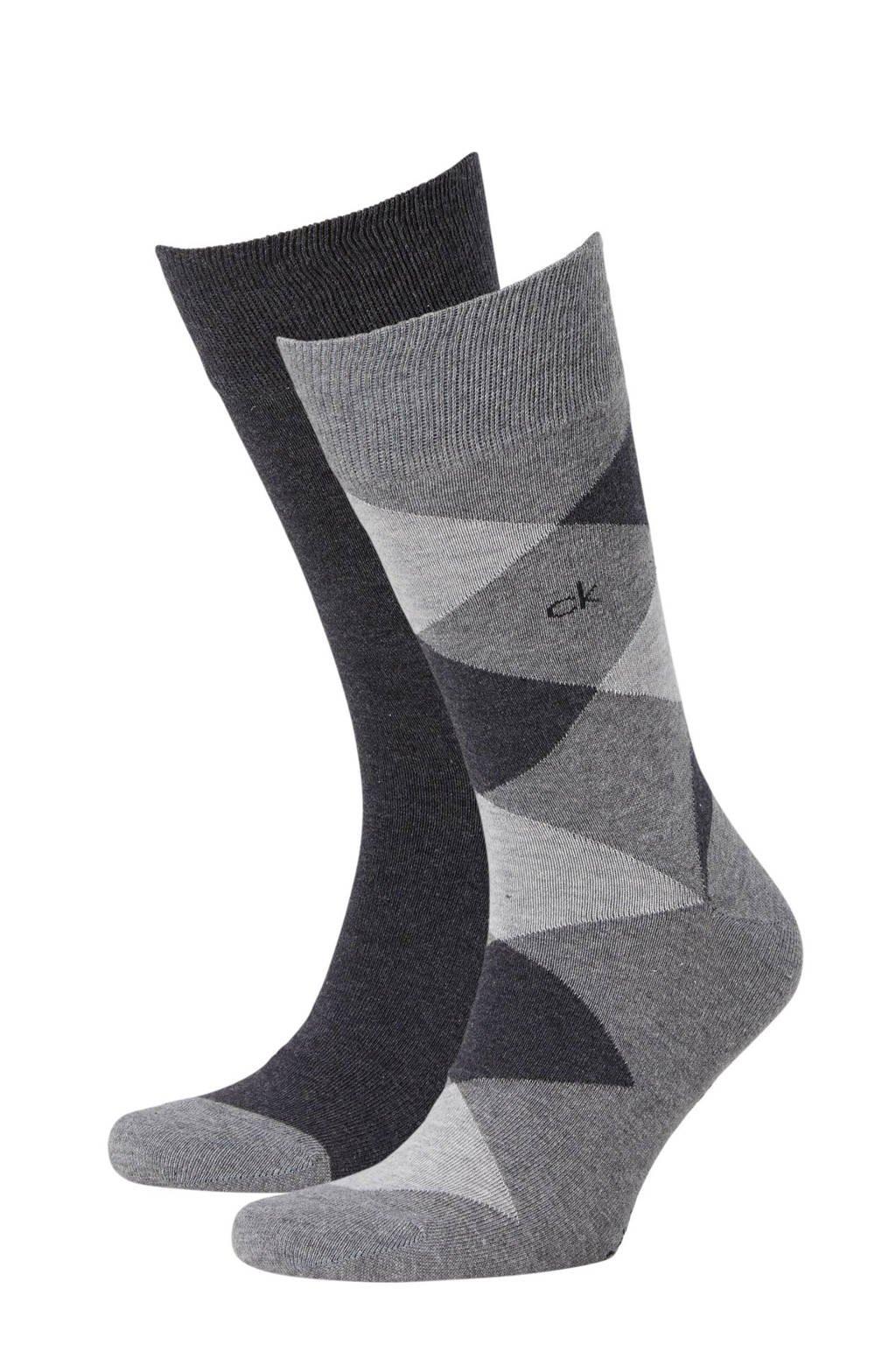 Calvin Klein sokken - 2 paar, Grijs