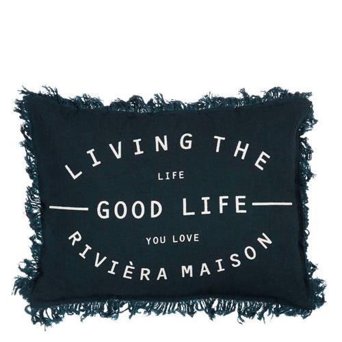 Riviera Maison sierkussen Good Life (30x40 cm) kopen