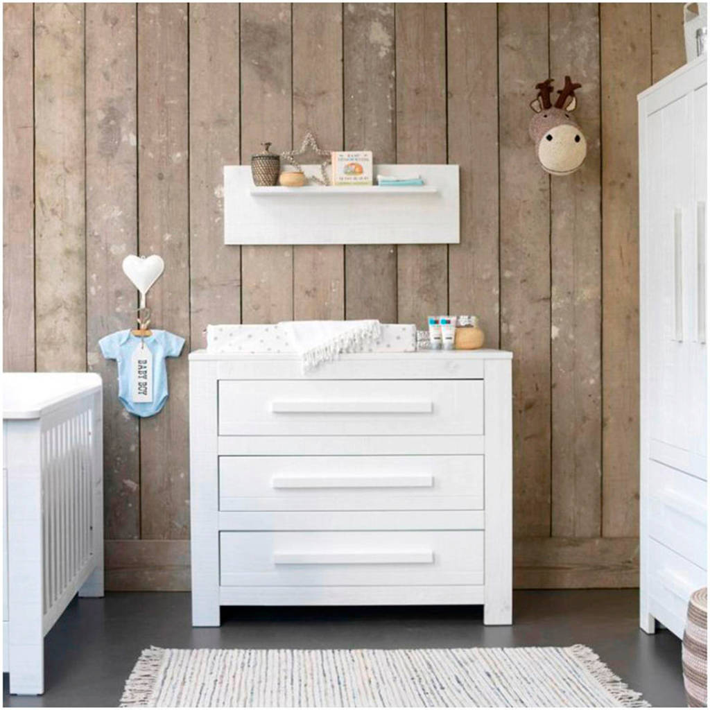 Commode Baby Kamer.Coming Kids Salty Babykamer Ledikant Commode Linnenkast