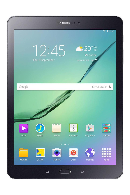 Samsung Galaxy Tab S2 9.7 (T813) tablet, Wifi, Zwart