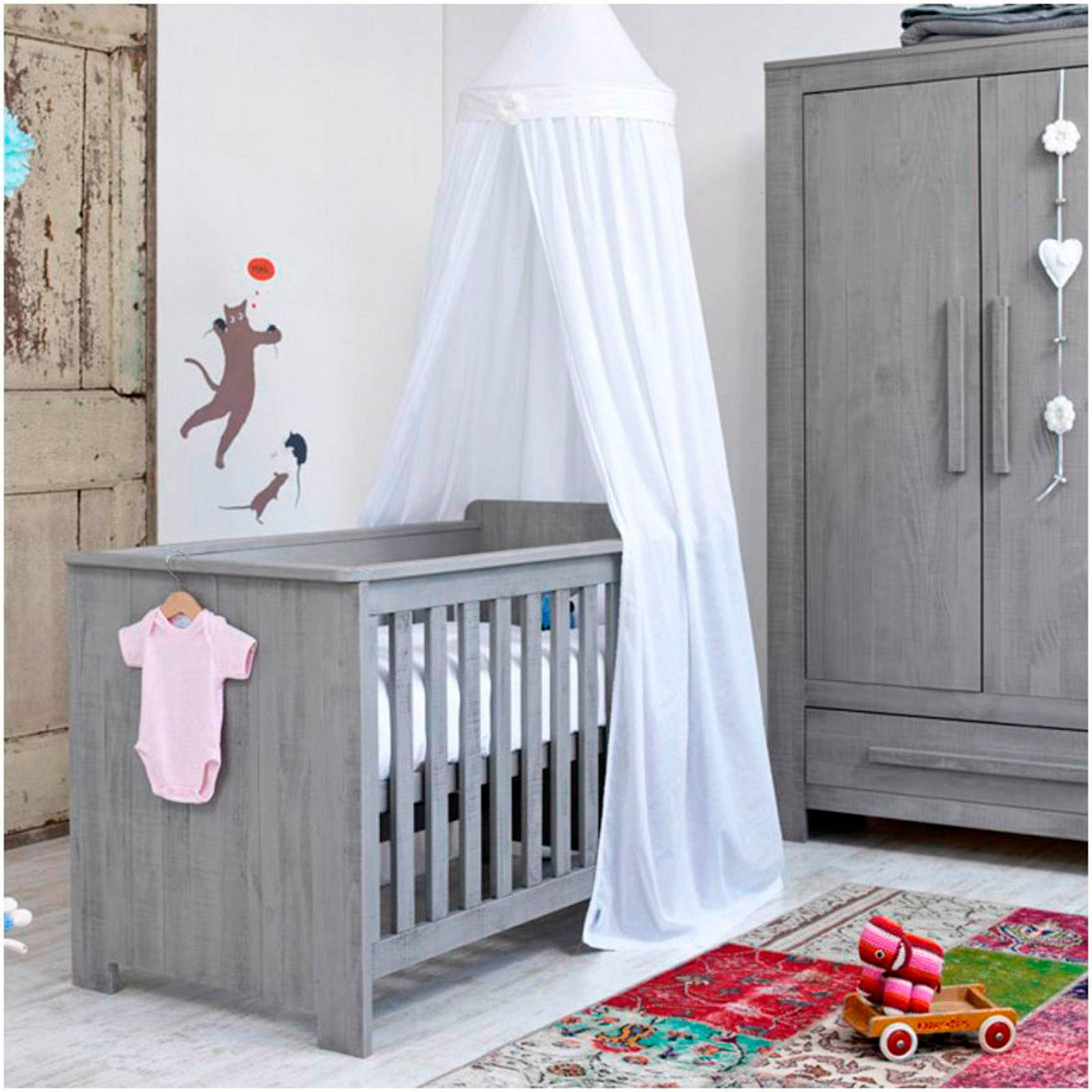 Coming Kids Zanzi babykamer (ledikant + commode + linnenkast)