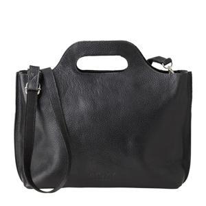 leren handtas My Carry Bag zwart