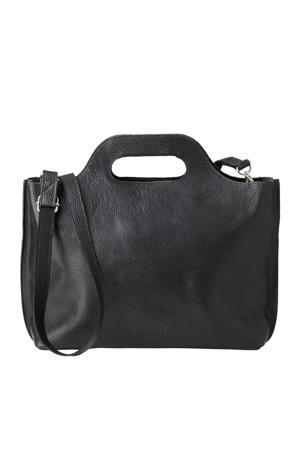 MY CARRY BAG leren handtas  zwart