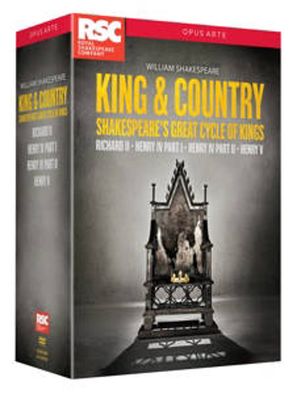 Royal Shakespeare Company - King & Country (DVD)