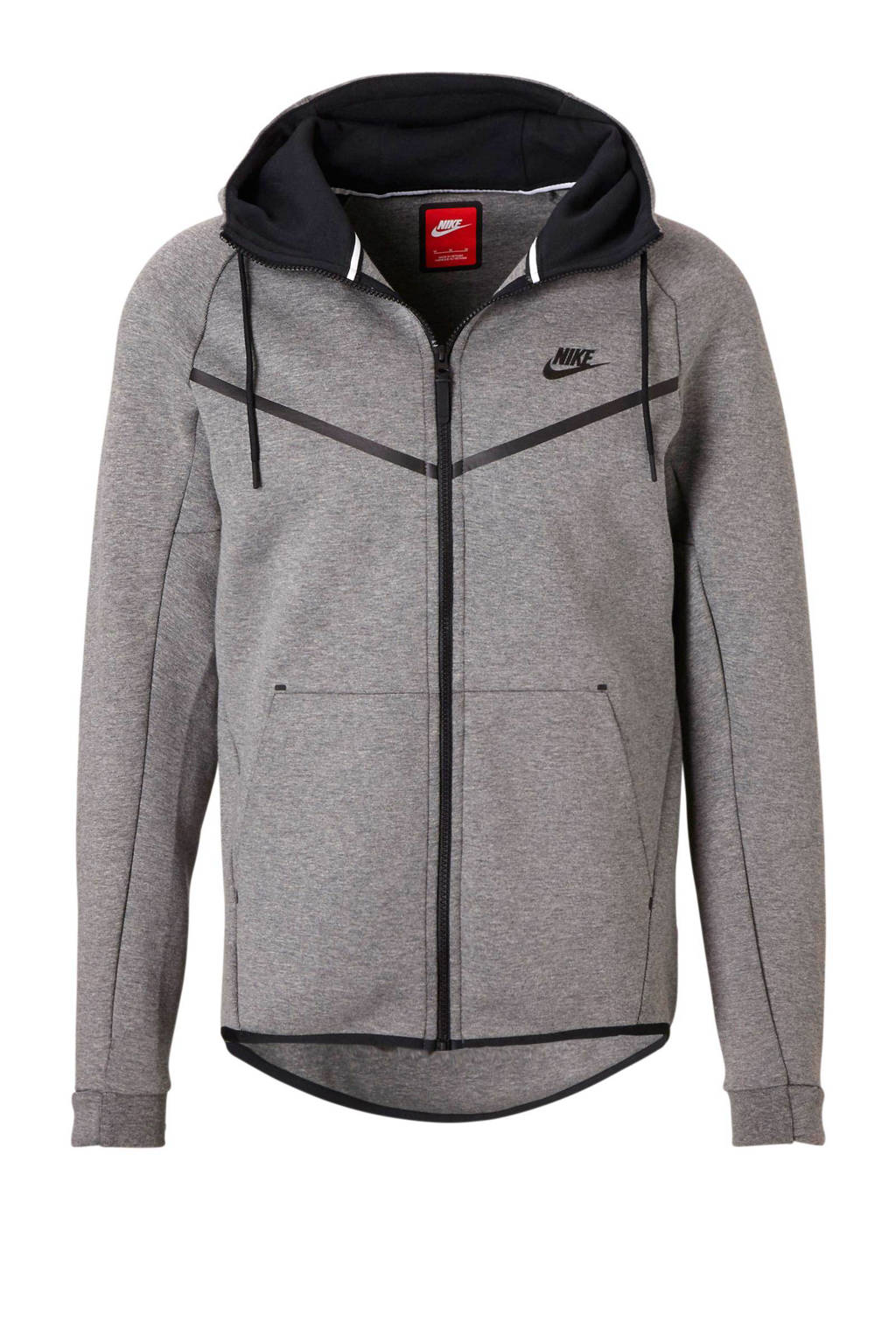 827e3f1f8d4 Nike Tech Fleece vest, Grijs melange