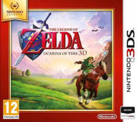 Zelda - Ocarina of time 3D (selects) (Nintendo 3DS)