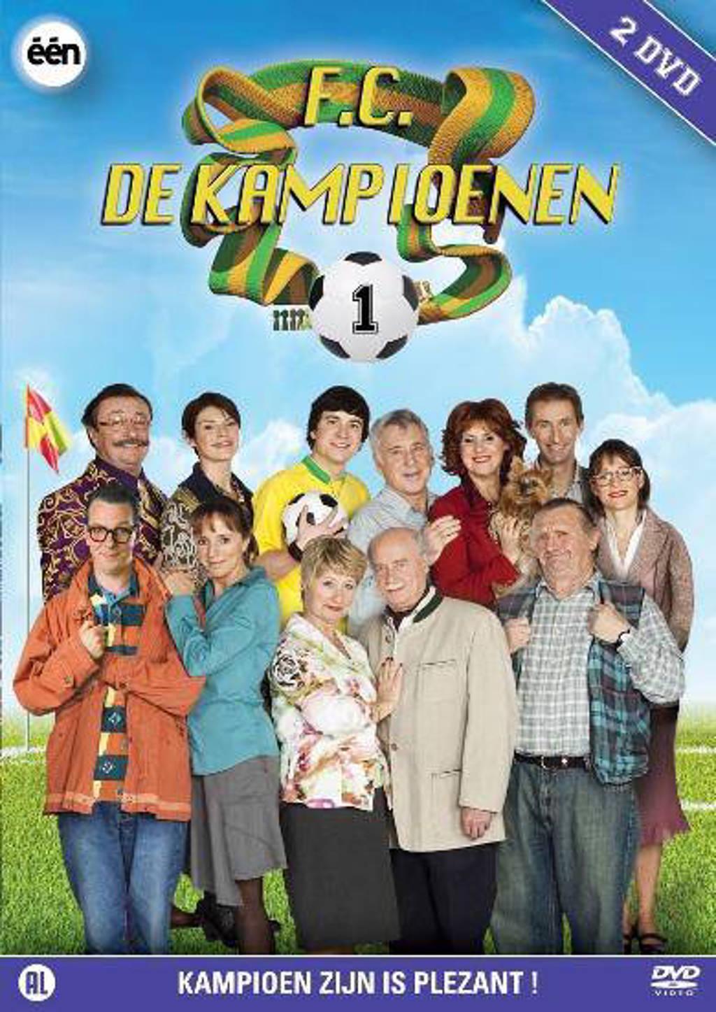 F.C. de kampioenen - Seizoen 1 (DVD)