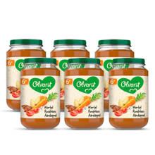 babyvoeding wortel rundvlees aardappel 6+ mnd (6 x 200 gram)