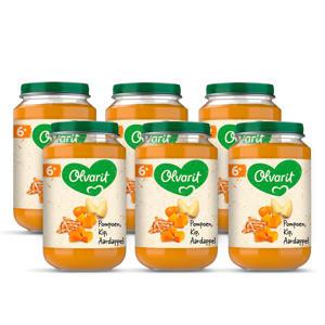 babyvoeding pompoen kip aardappel 6+ mnd (6 x 200 gram)