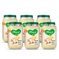 Olvarit babyvoeding banaan appel yoghurt 6+ mnd (6 x 200 gram)