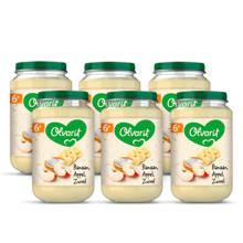 babyvoeding banaan appel yoghurt 6+ mnd (6 x 200 gram)