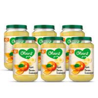 Olvarit babyvoeding appel banaan sinaasappel 6+ mnd (6 x 200 gram)