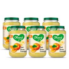 babyvoeding appel banaan sinaasappel 6+ mnd (6 x 200 gram)