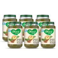 Olvarit Spinazie Rundvlees Aardappel - babyhapje voor baby's vanaf 8+ maanden - 6x200 gram babyvoeding in een maaltijdpotje