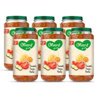 Olvarit babyvoeding tomaat tonijn pasta 12+ mnd (6 x 250 gram)