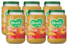 babyvoeding appel perzik mango 12+ mnd (6 x 200 gram)