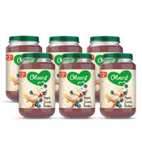 Olvarit babyvoeding appel yoghurt bosbes 12+ mnd (6 x 200 gram)