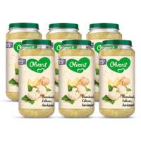 Olvarit Bloemkool Kalkoen Aardappel - babyhapje voor baby's vanaf 15+ maanden - 6x250 gram babyvoeding in een maaltijdpotje
