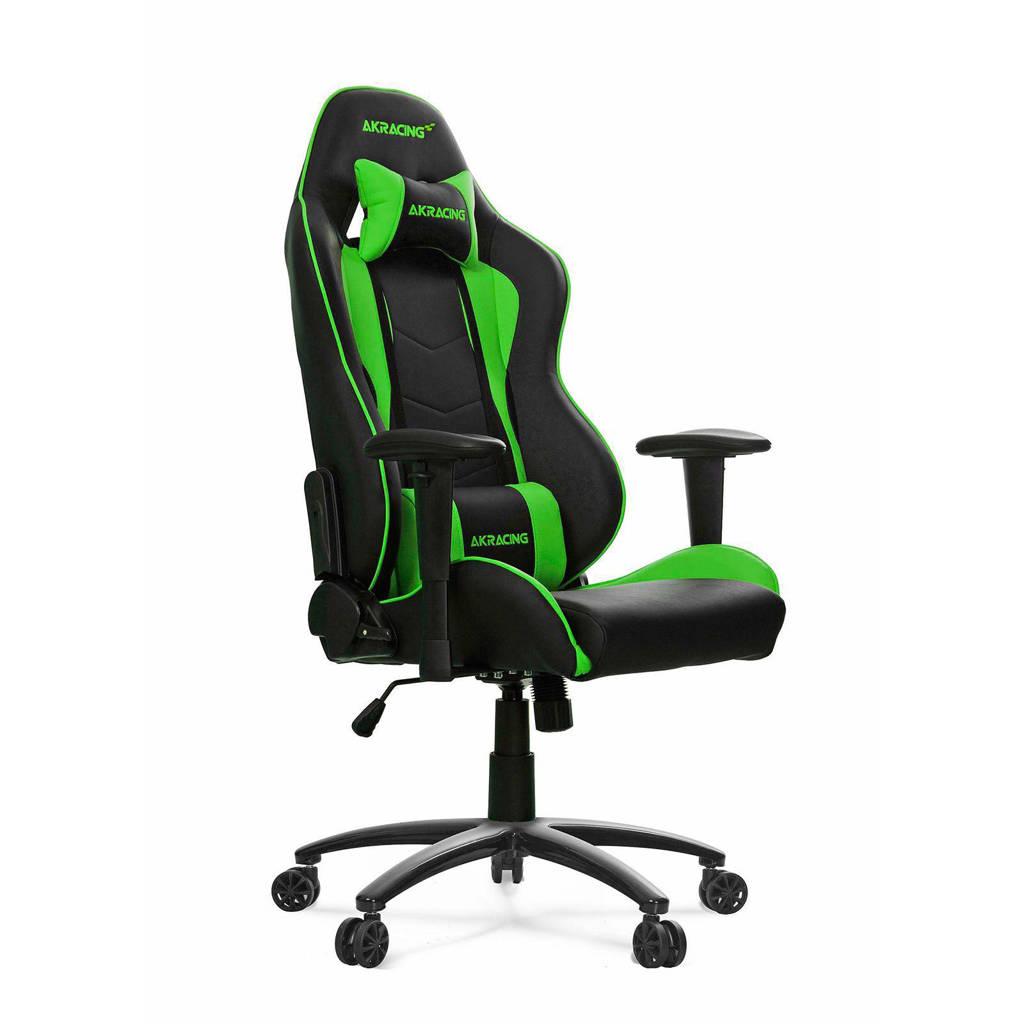AKRacing Nitro gamestoel groen, Groen/zwart