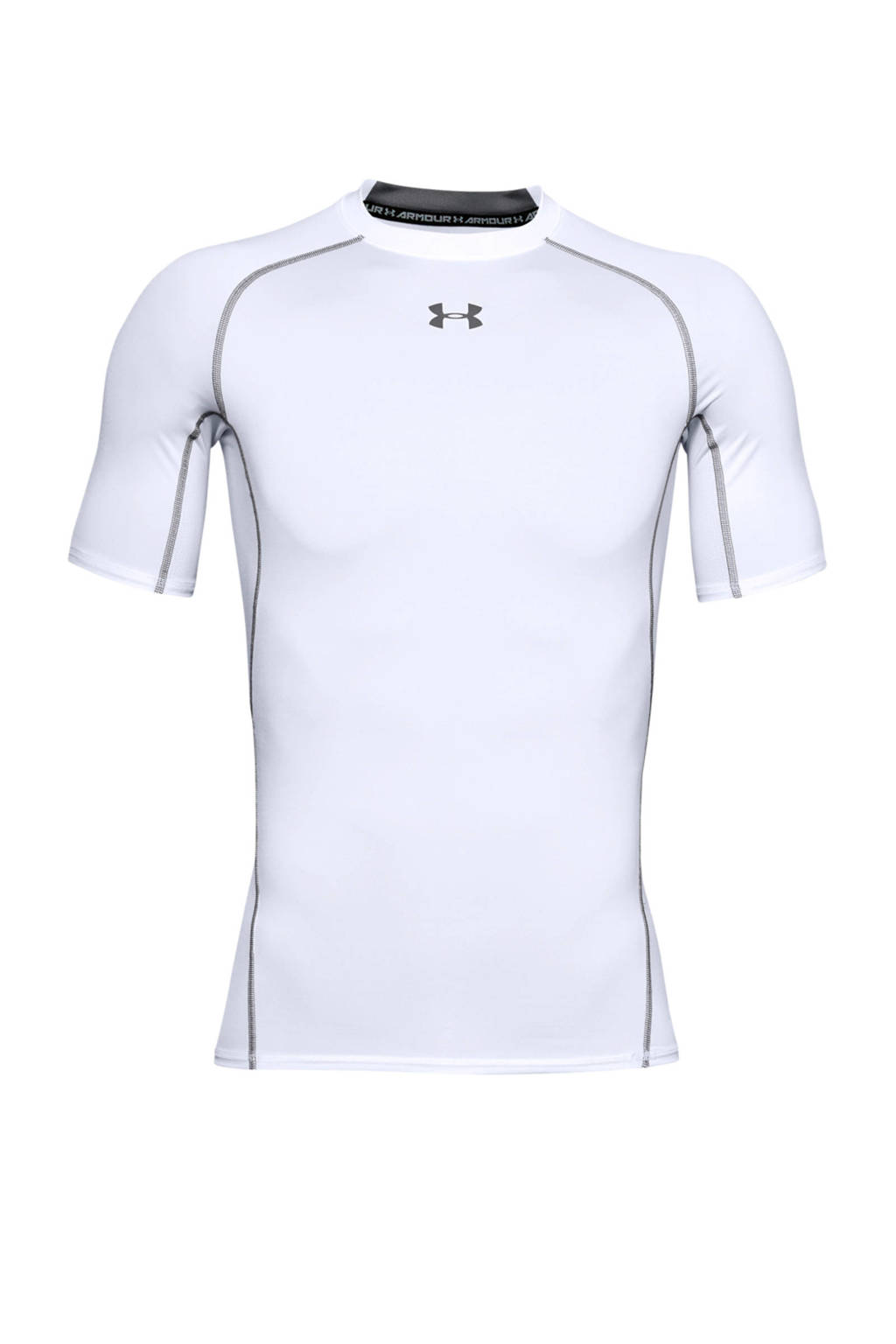 Under Armour   sport T-shirt, Wit/grijs