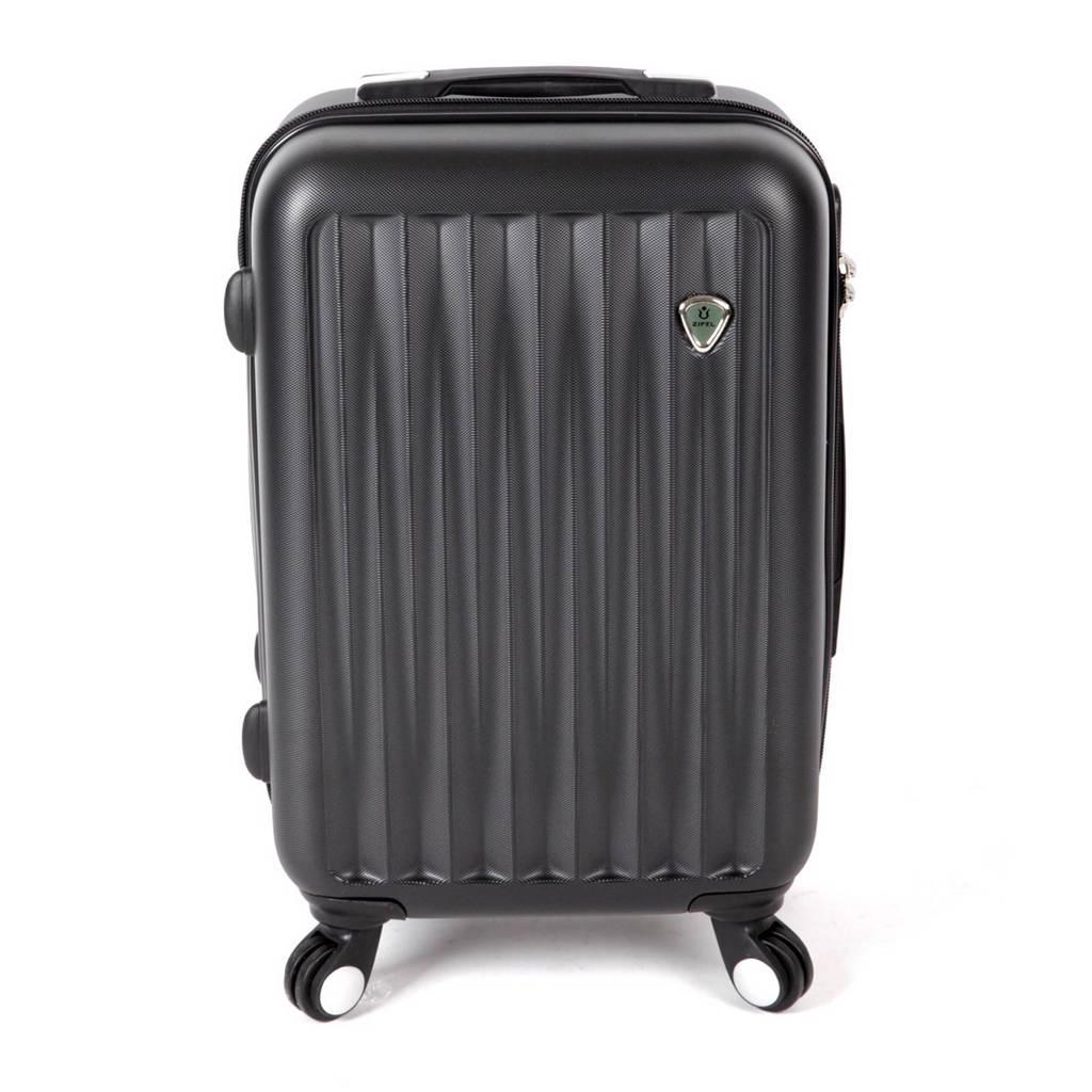 Zifel Barcelona koffer (51 cm), 51x35x22, Zwart