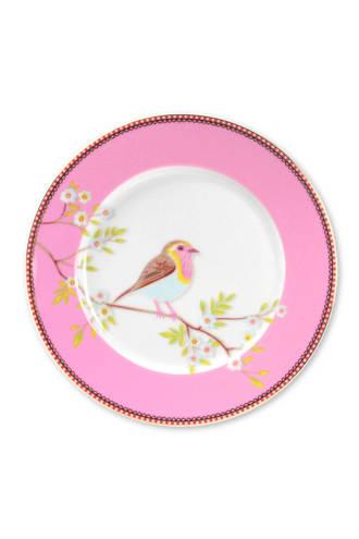 Floral ontbijtbord (Ø21 cm)