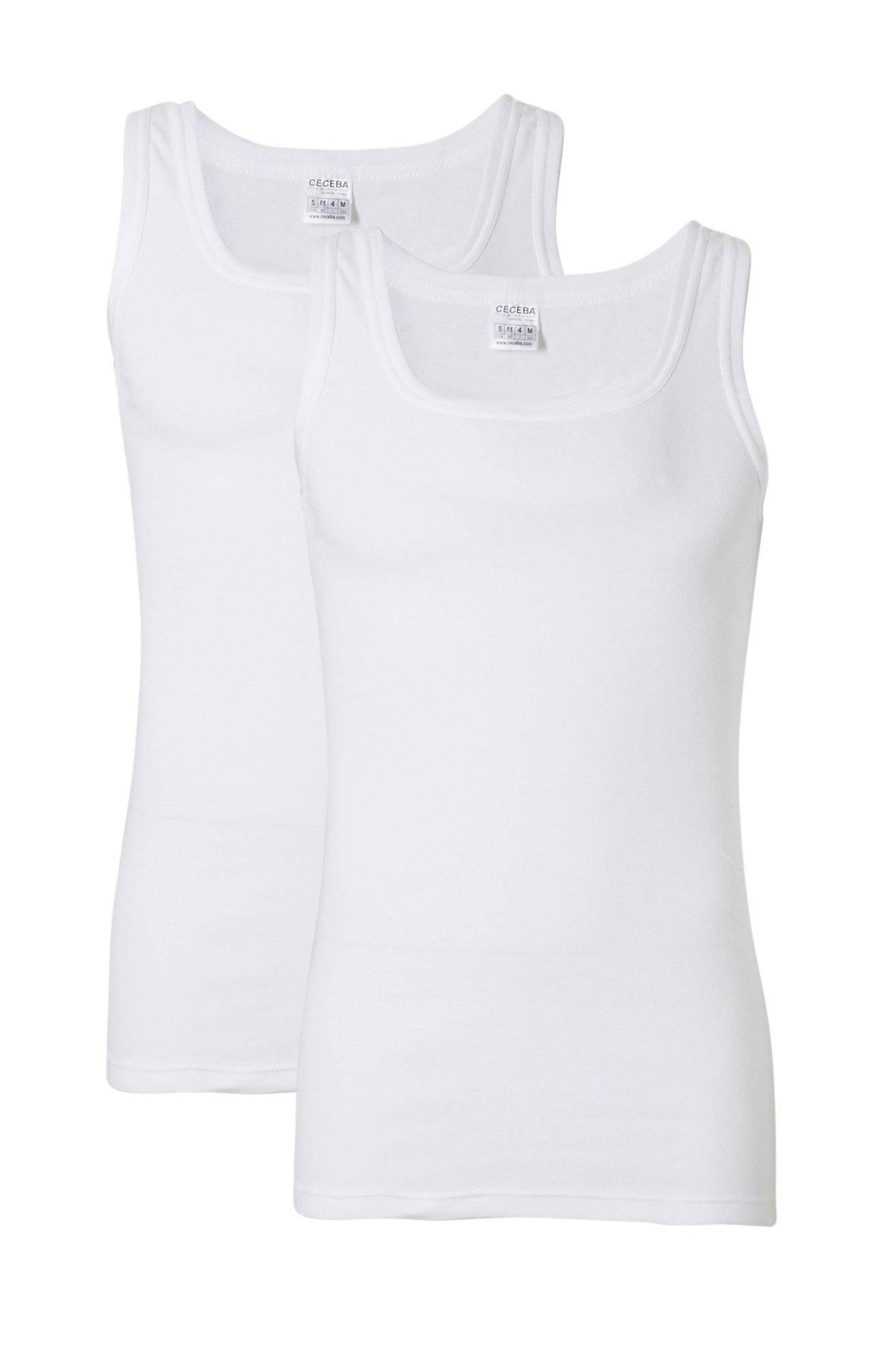 Ceceba +size hemd (set van 2) (heren)