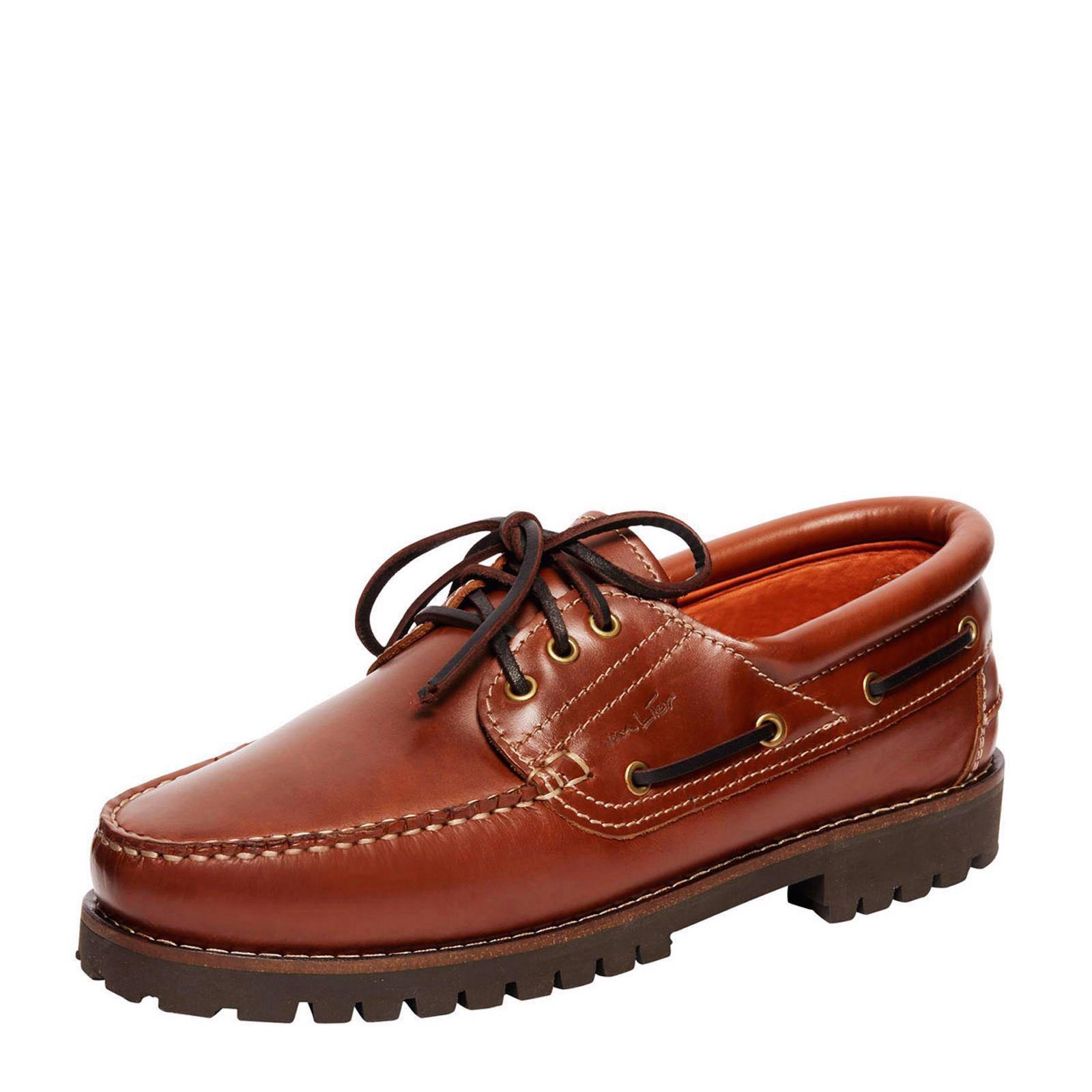 leren bootschoenen dames