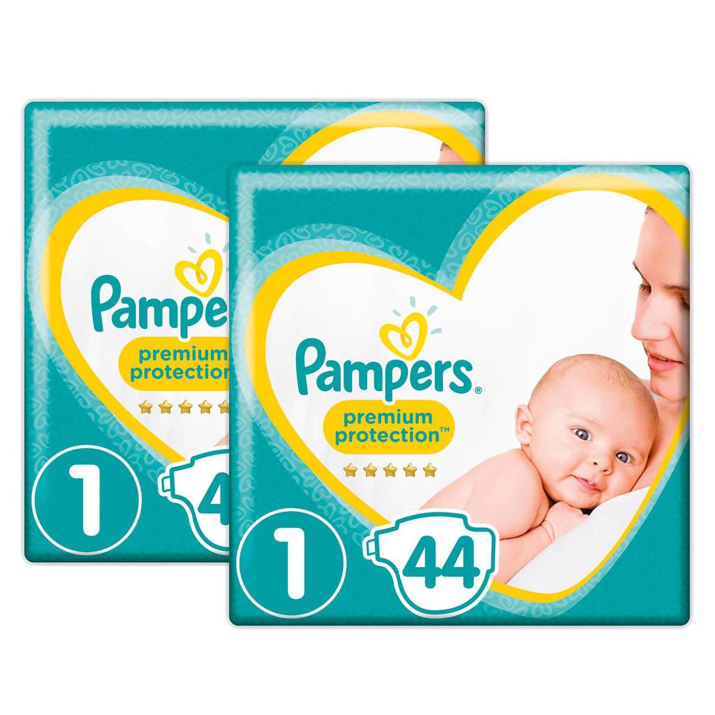 Pampers Premium Protection maat 1 (2-5 kg) 88 luiers